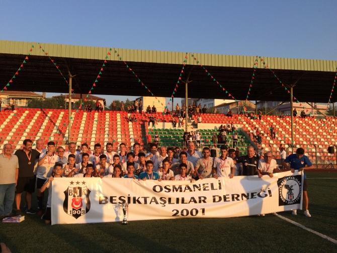 LEFKE CUP U15'TE ŞAMPİYON BELLİ OLDU 21