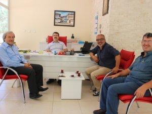 Belediye Başkanı Münür Şahin'den Gazetemize Ziyaret