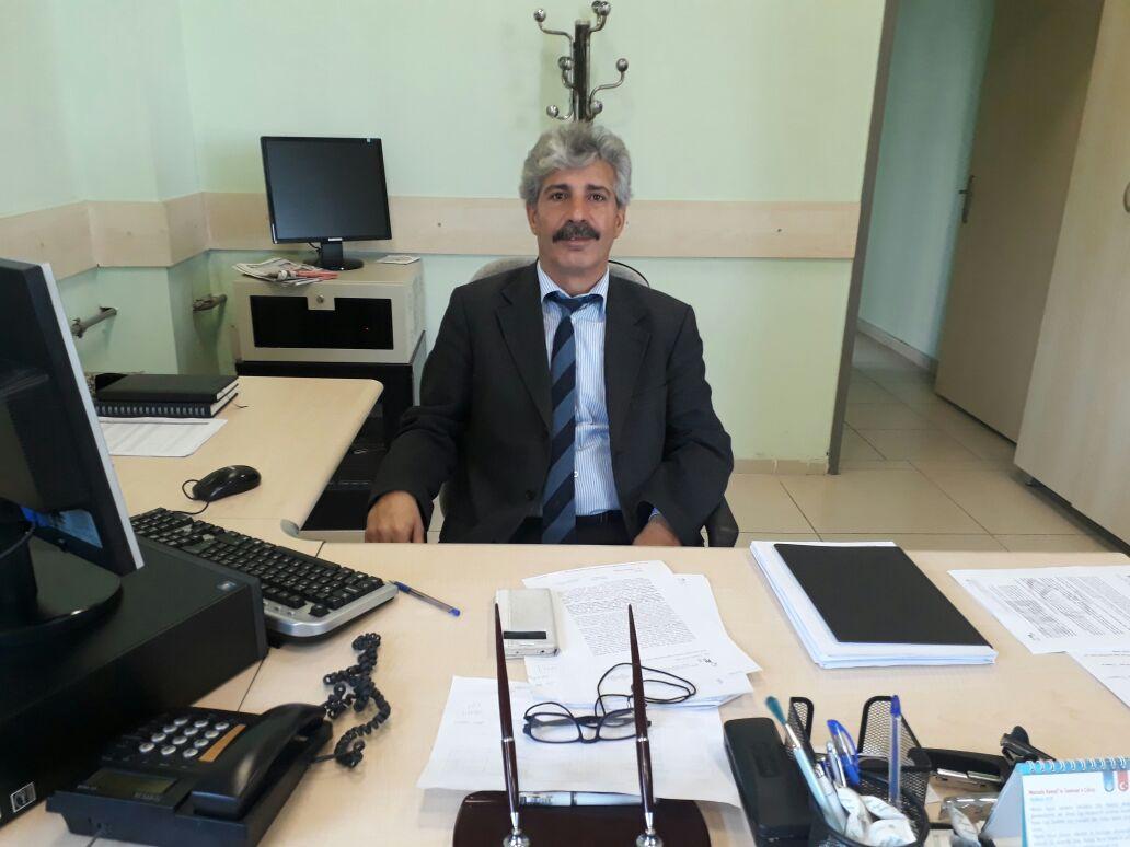 PTT MÜDÜRÜ ZİYA BERBER GÖREVİNE BAŞLADI