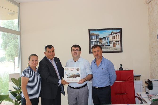 Seyyar, Ünver ve Aksoy'dan gazetemize ziyaret