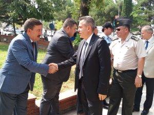 Vali Elban'dan Osmaneli'ye İlk Resmi Ziyaret
