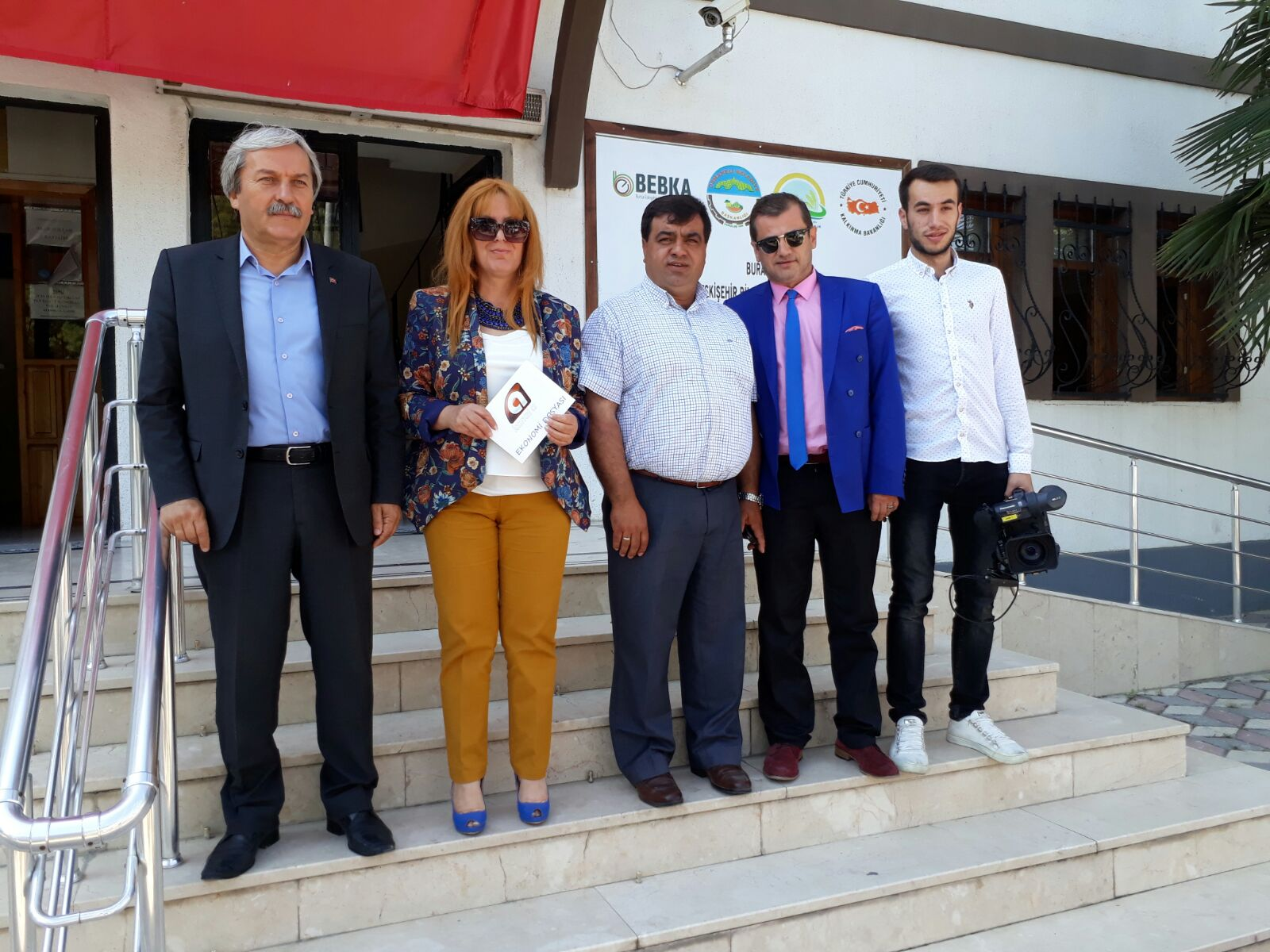 KANAL A TELEVİZYONU OSMANELİ'DE