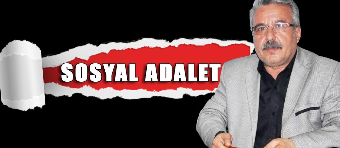 SOSYAL ADALET
