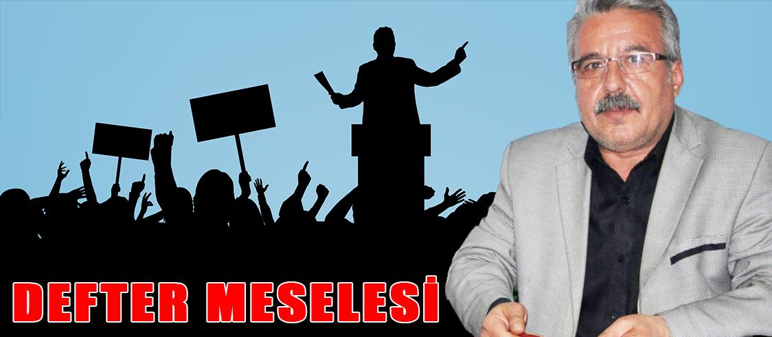DEFTER MESELESİ