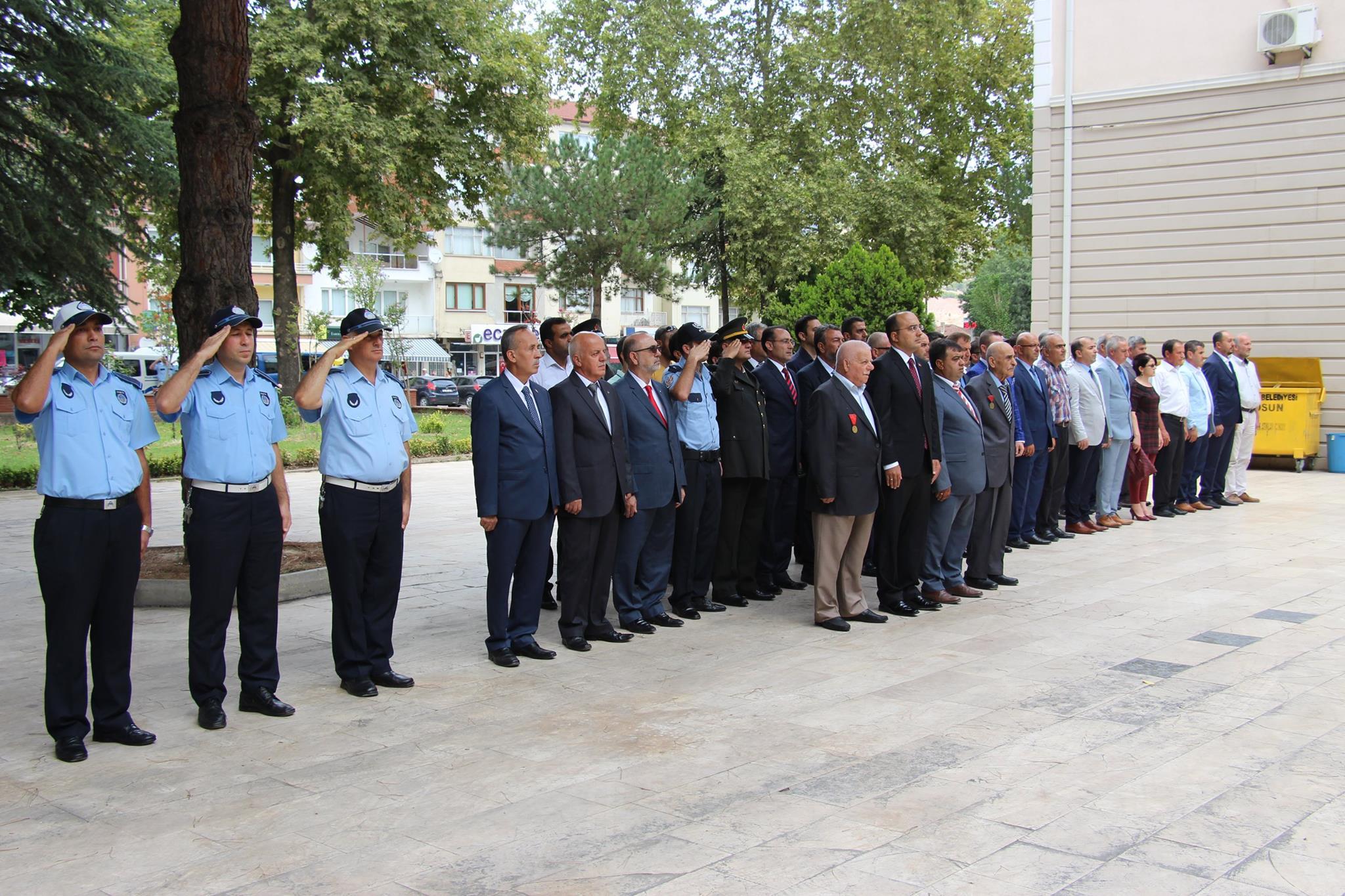 30 AĞUSTOS ZAFER BAYRAMI OSMANELİ'DE KUTLANDI