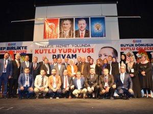 AK PARTİ BOZÜYÜK 'TE KONGRESİNİ YAPTI