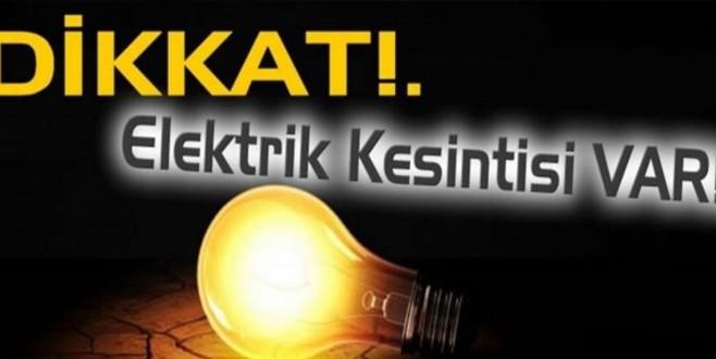 OSMANELİ'DE ELEKTRİK KESİNTİSİ