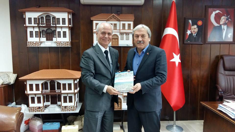 PROF. DR. KOYUNCU'DAN BAŞKAN ŞAHİN'E ZİYARET