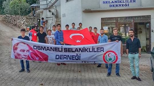 SELANİKLİLER DERNEĞİNDEN ''EZİK İNSANLAR'' SÖZLERİNE KINAMA