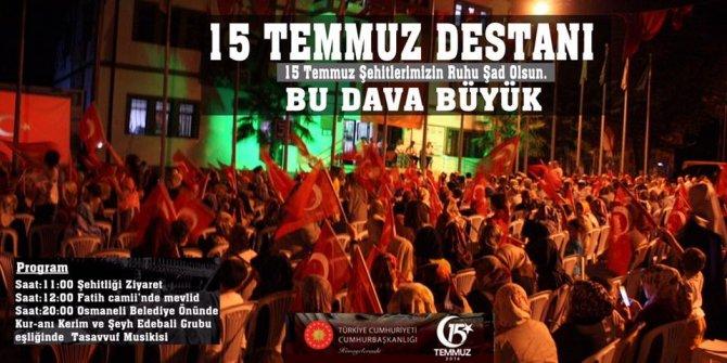DEMOKRASİ ADINA HERKESİ DAVET EDİYORUM