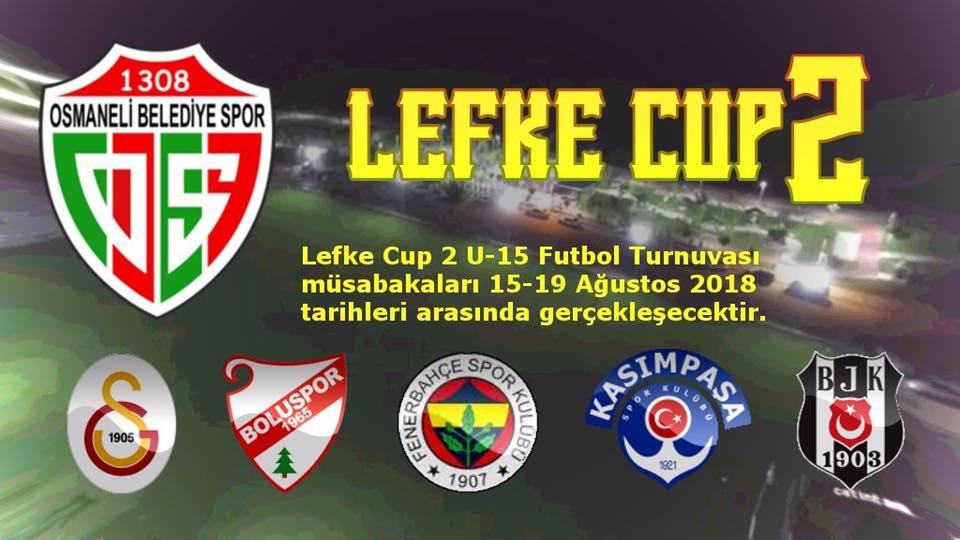 LEFKE CUP U15'İN İKİNCİSİ DÜZENLENECEK