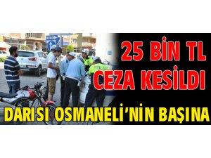CEZALAR KESİLDİ DARISI OSMANELİ'NİN BAŞINA