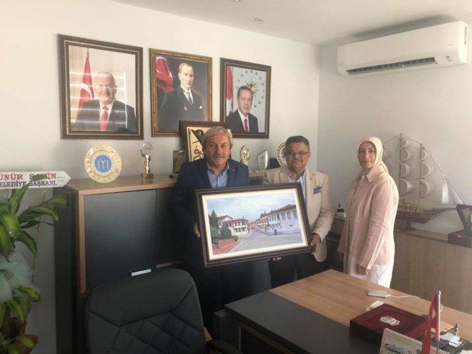 OSMANELİ'DEN, MİLLETVEKİLİ YAĞCI'YA ZİYARET