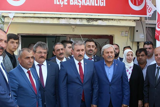 GENEL BAŞKAN OSMANELİ'DE