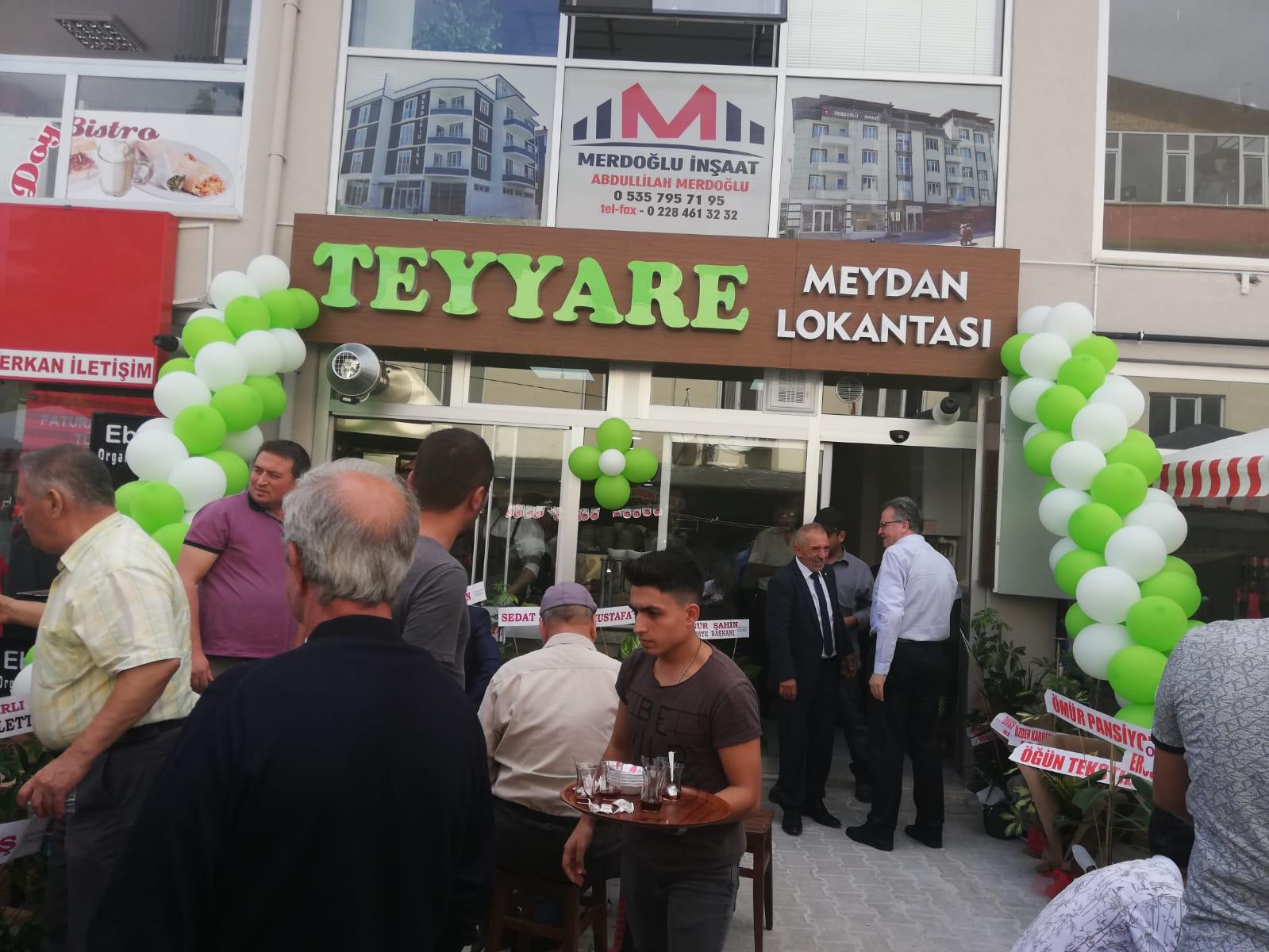 OSMANELİ'YE YENİ BİR RESTAURANT
