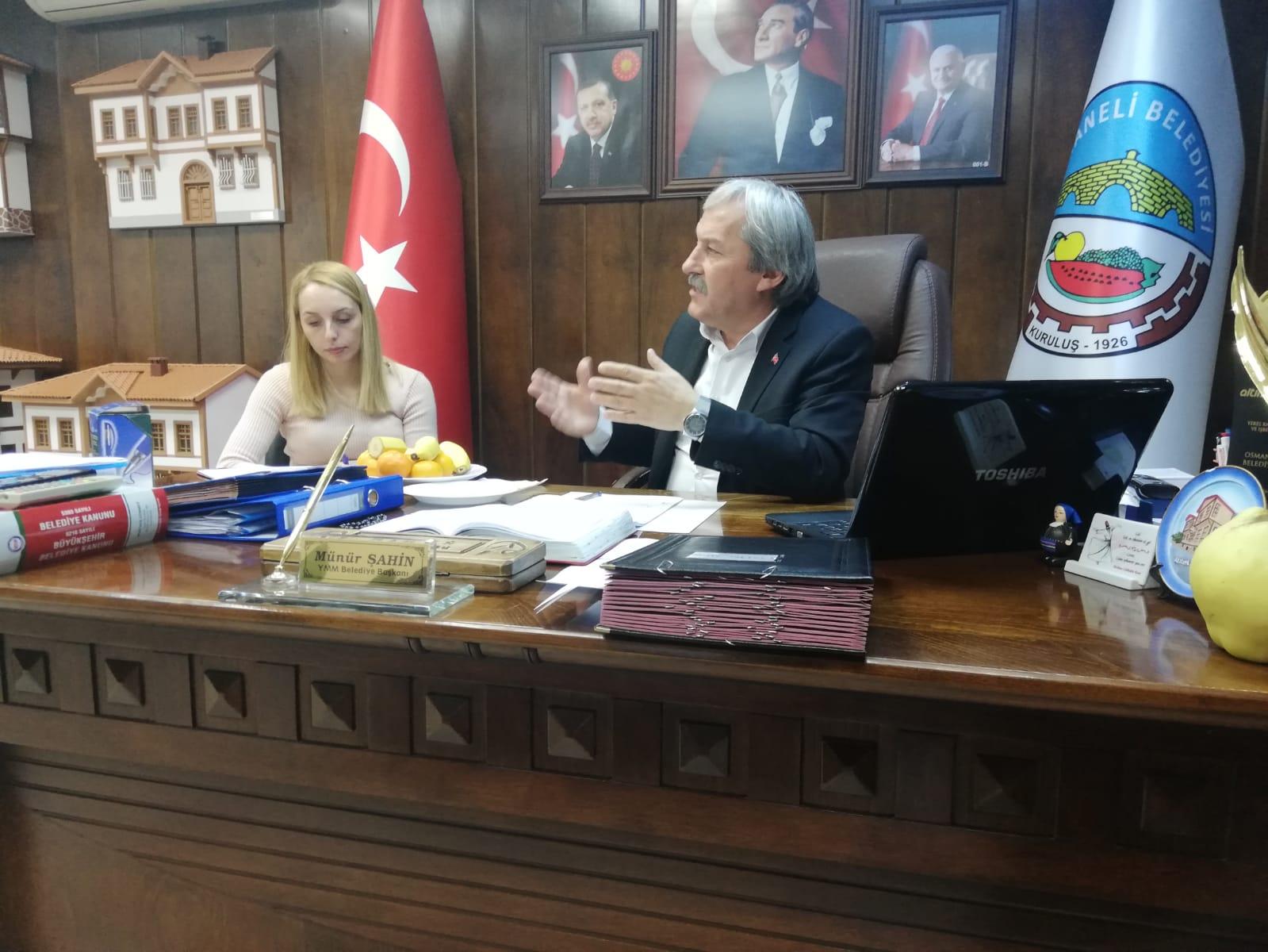OSMANELİ BELEDİYE MECLİSİ TOPLANDI