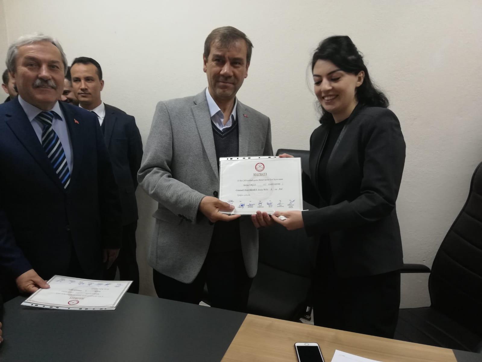 """""""MAZBATAYI TÜM HEMŞEHRİLERİM ADINA ALIYORUM"""""""