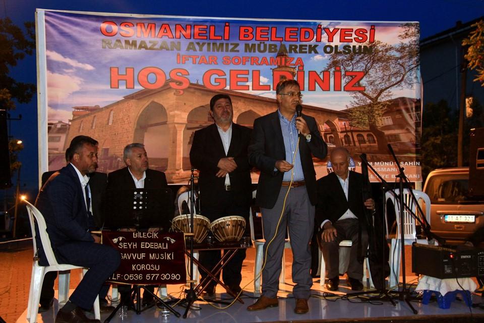 İLK MAHALLE İFTARI İNÖNÜ'DE VERİLDİ