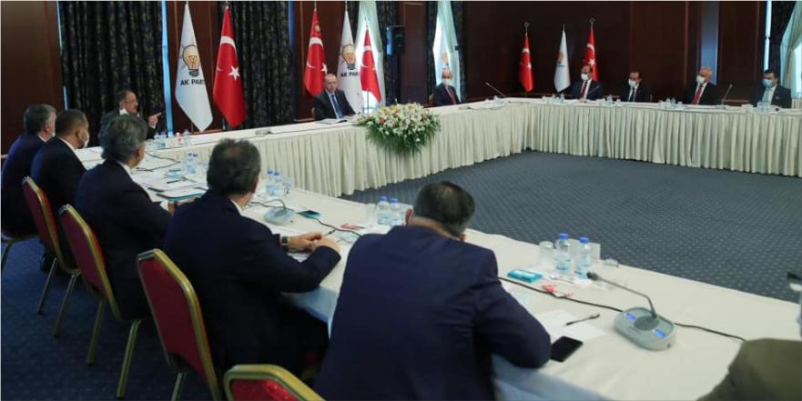 Belediye Başkanı Münür Şahin proje değerlendirme toplantısına katıldı