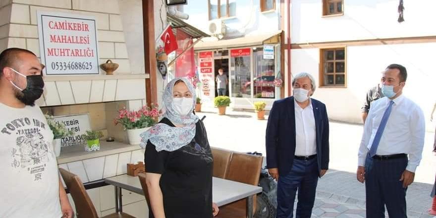 Osmaneli'de korona denetimi