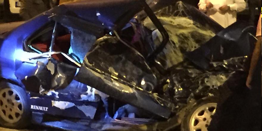 Osmaneli Merkezi'nde feci kaza