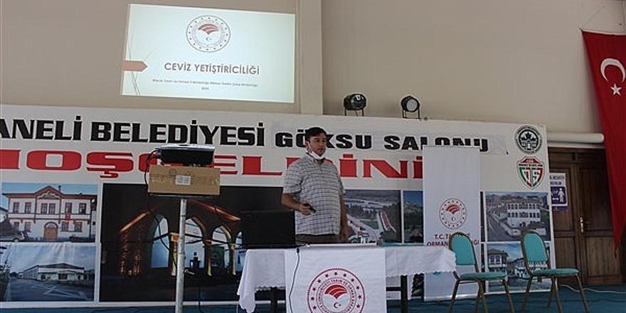 Osmanelili çiftçilere ceviz semineri