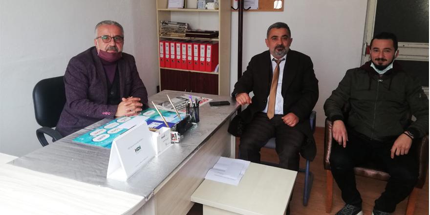 DSP il başkanı Demirel'den gazetemizden ziyaret