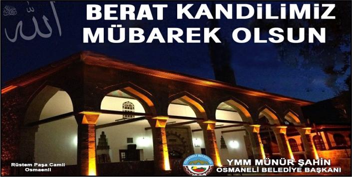 Osmaneli Belediyesi - Berat Kandili