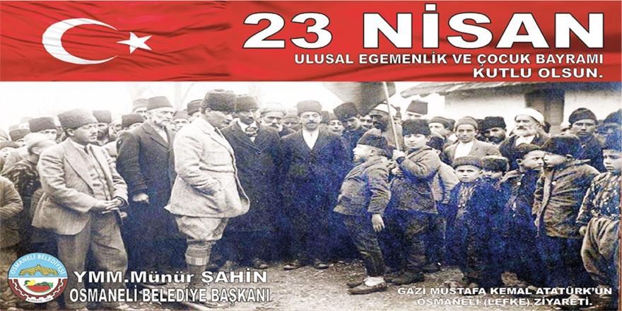 Osmaneli Belediyesi - 23 Nisan Kutlama