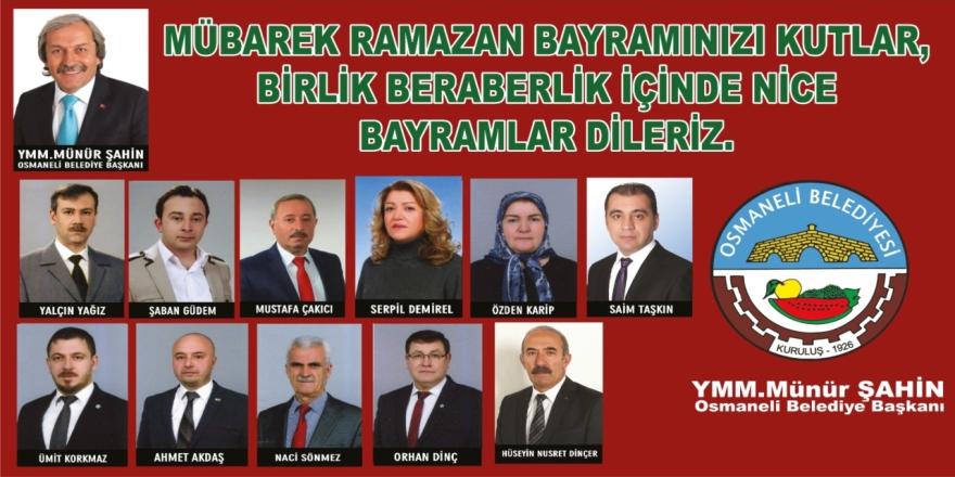 Osmaneli Belediyesi - Bayram Tebriği İlanı