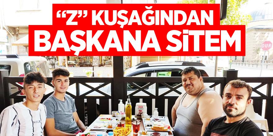 """""""Z"""" KUŞAĞINDAN BAŞKANA SİTEM"""