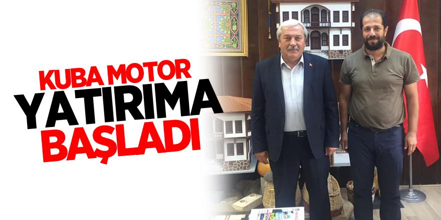 KUBA MOTOR YATIRIMA BAŞLADI