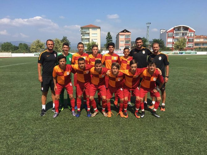 LEFKE CUP U15'TE BÜYÜK HEYECAN