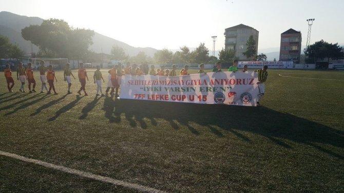 Lefke U15 Cup İyiki Varsın Eren Pankartı 2